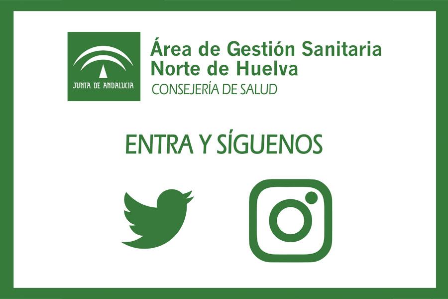 El Área Sanitaria Norte de Huelva se acerca a la ciudadanía a través de las redes sociales
