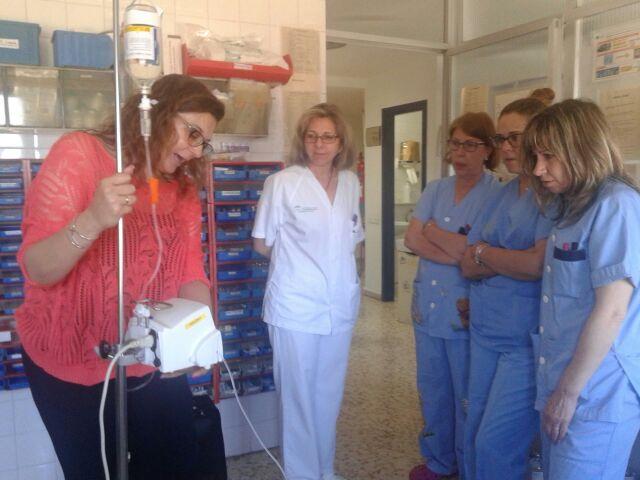El Hospital de Riotinto renueva las bombas de infusión para mejorar la calidad asistencial de sus pacientes