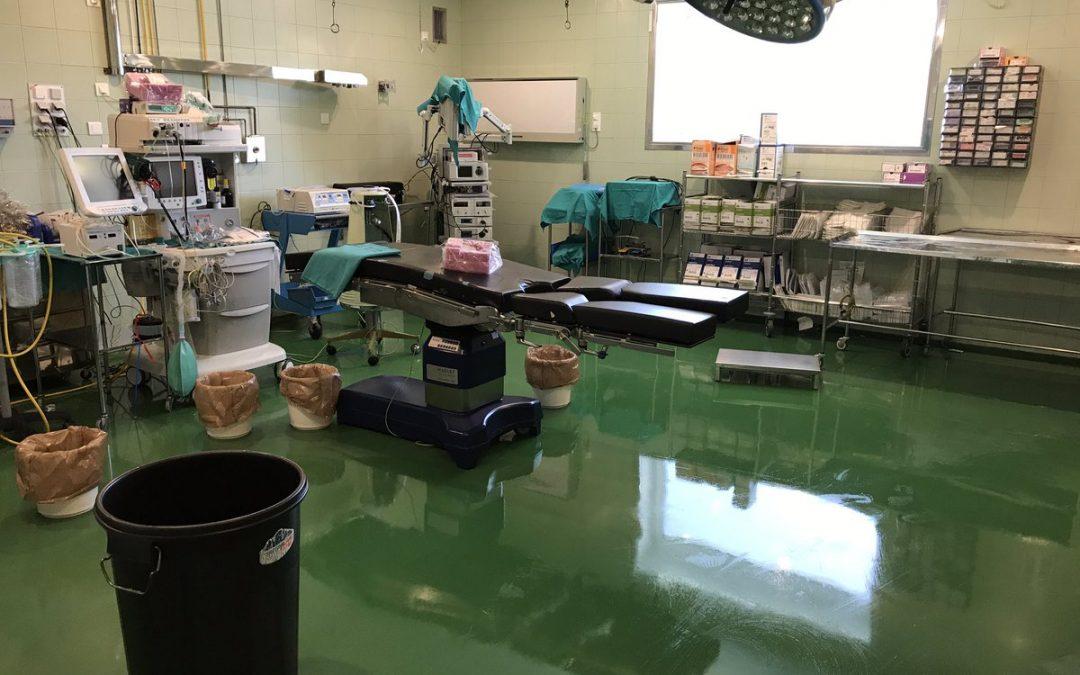 Sale a licitación el proyecto y redacción de obra de reforma del bloque obstétrico y quirófanos del hospital de Riotinto
