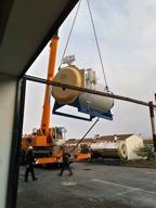 El Área Sanitaria Norte de Huelva sustituye la antigua caldera de vapor del hospital de Riotinto por una nueva