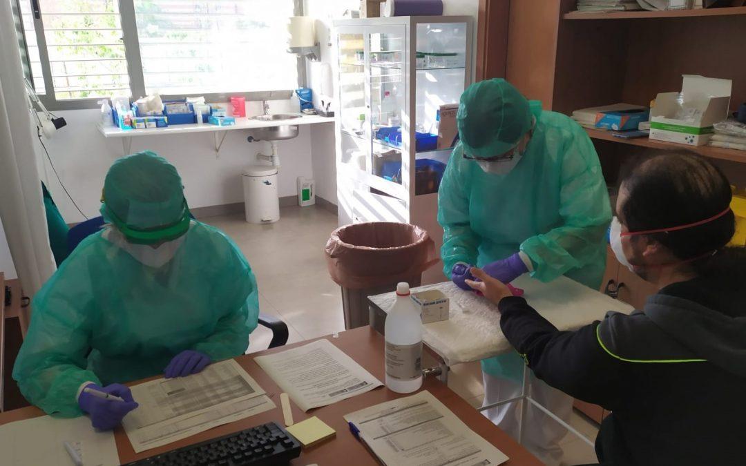 243 familias del Área Sanitaria Norte participan en el estudio nacional de seroprevalencia del Covid-19