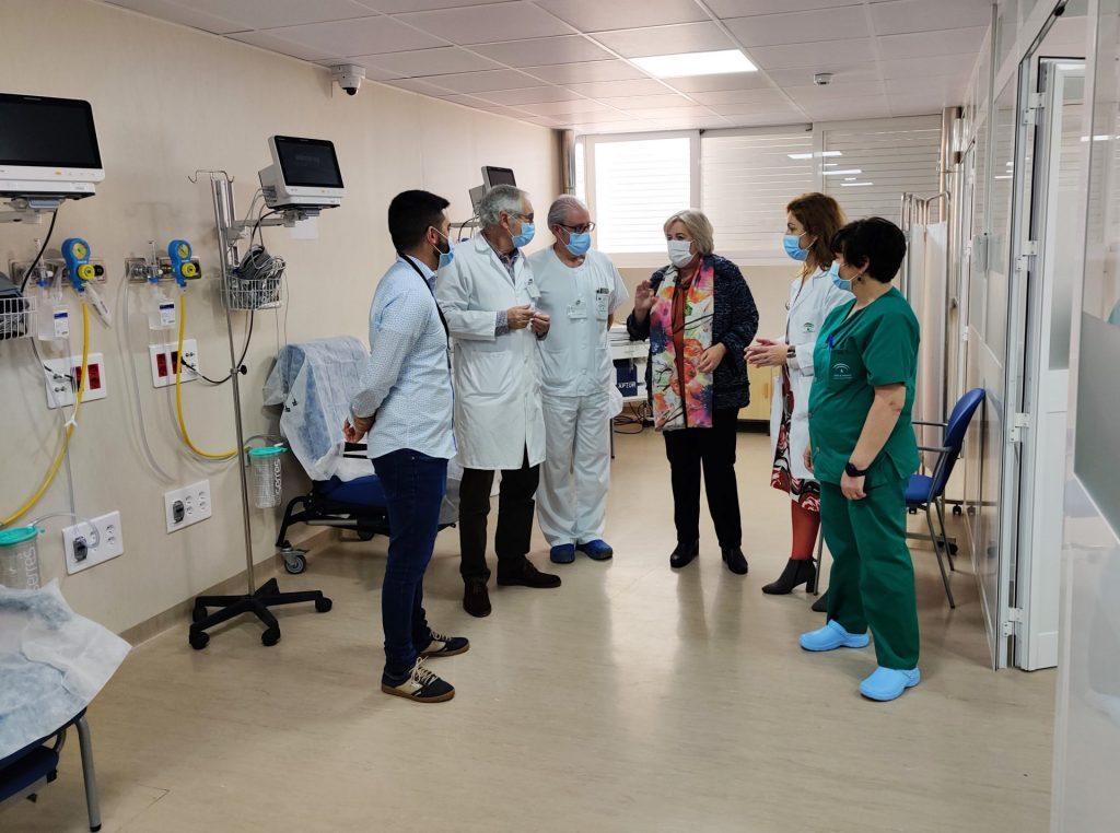 El Hospital de Riotinto estrena nuevas consultas de Pediatría y aumenta los espacios destinados a la atención a las urgencias