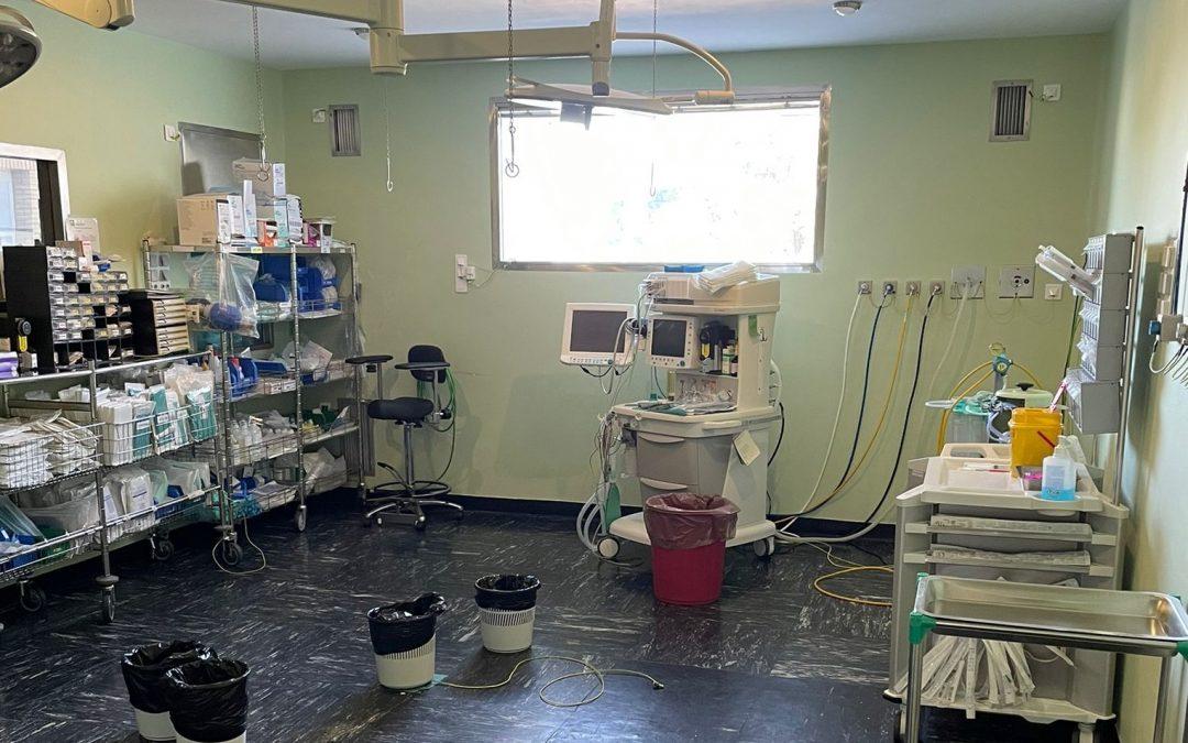 El Hospital de Riotinto incrementa su actividad quirúrgica en un 6% a pesar de la incidencia de la pandemia