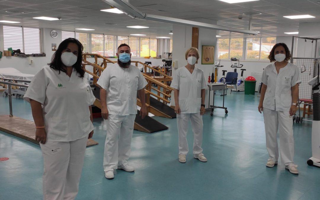 El Hospital de Riotinto amplía a horario de tarde la actividad de su sala de fisioterapia