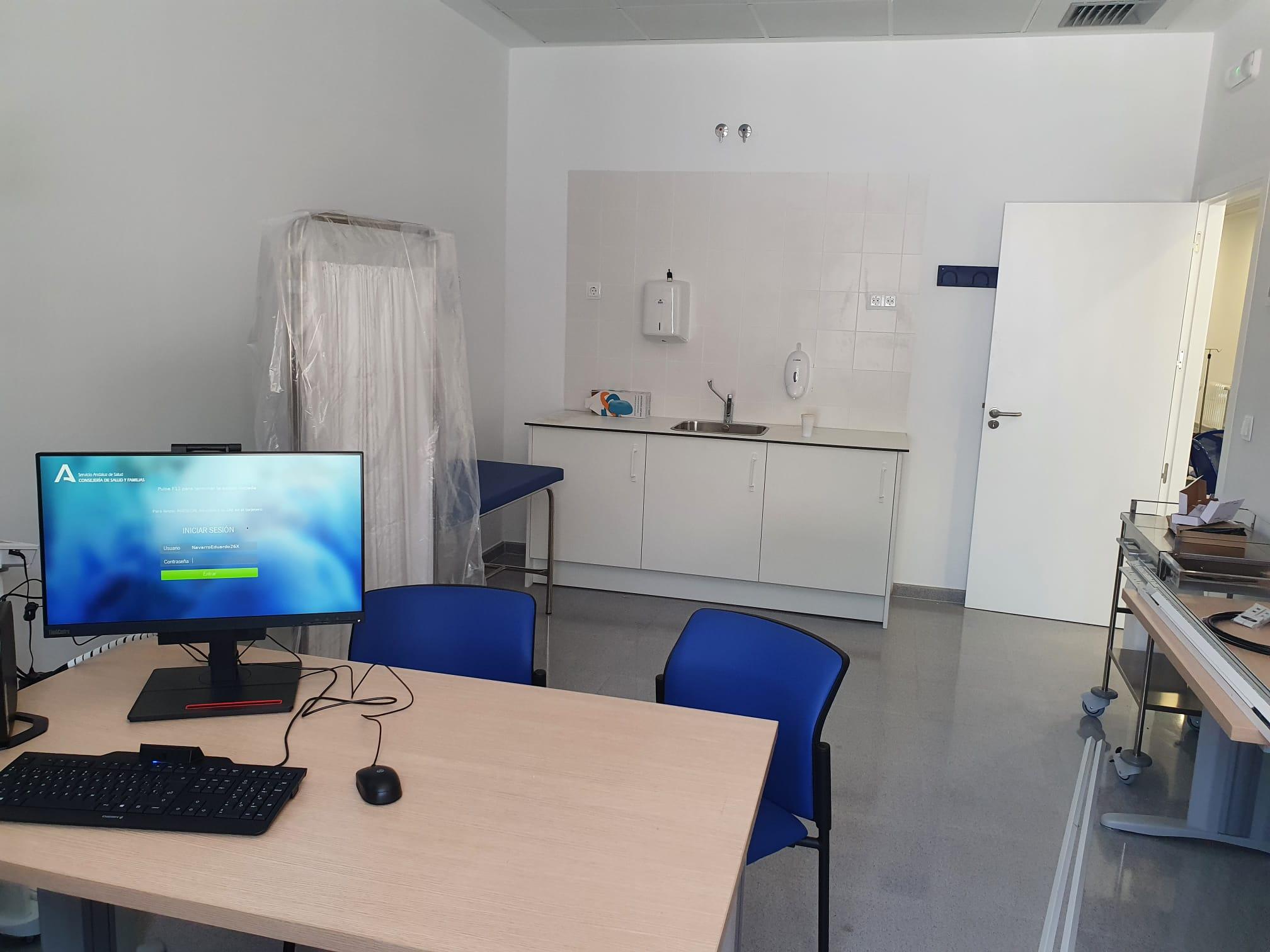 Los vecinos de Rosal de la Frontera disfrutan desde hoy de un nuevo consultorio amplio, moderno y adaptado a los circuitos Covid