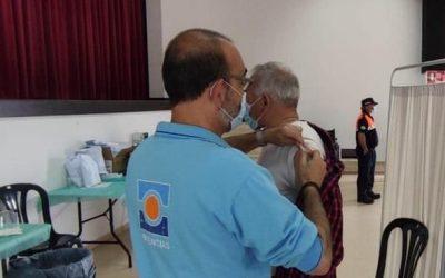 Aracena acoge una convocatoria masiva de vacunación sin cita para personas de 50 a 59 años