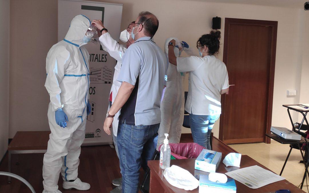 El Área Sanitaria Norte pone en marcha un taller avanzado en Prevención de Riesgos Biológicos