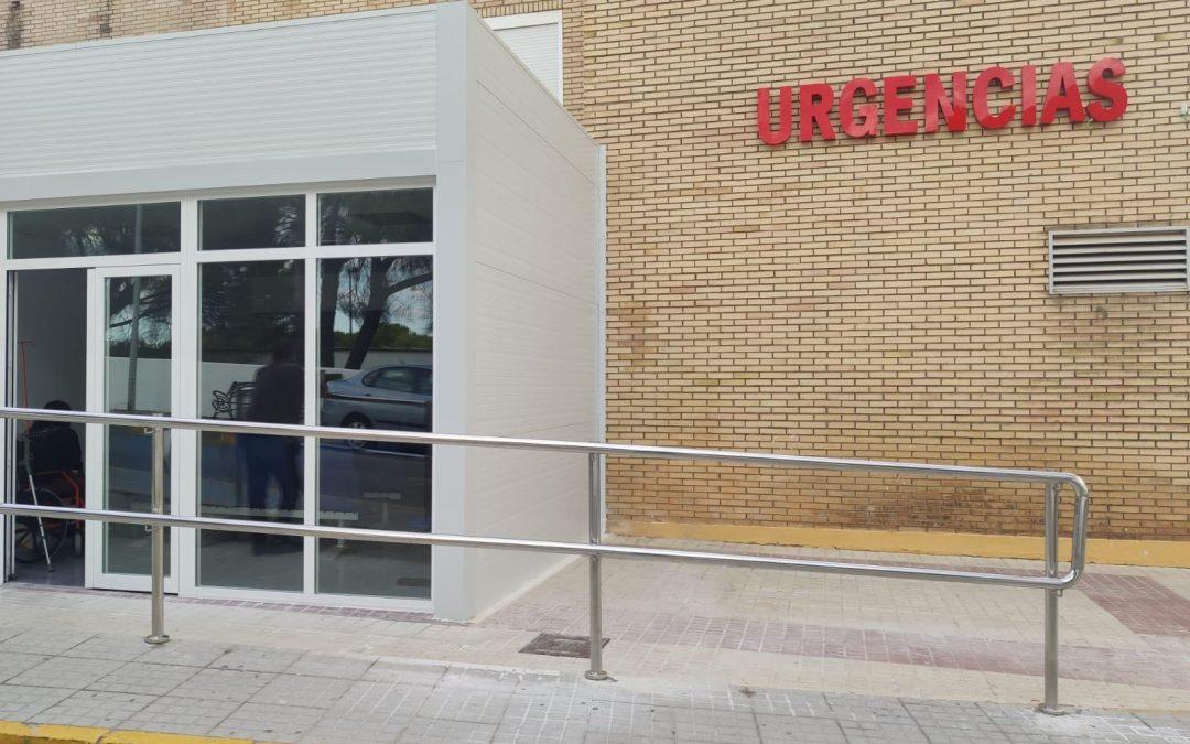 El Hospital de Riotinto amplía el Servicio de Urgencias e incorpora nuevos espacios para la estancia de usuarios y profesionales